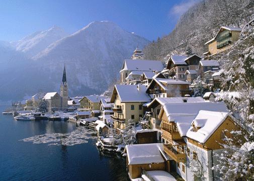World_Austria_Hallstatt_in_winter_007837_wallpaper